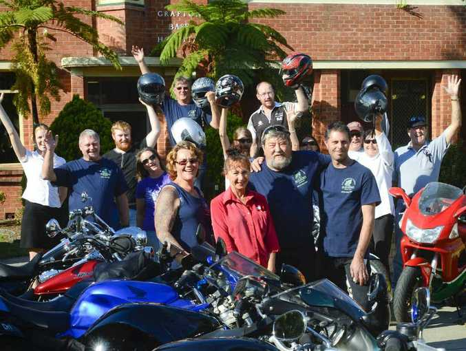 BIKE POWER: The Clarence Coast Riders raised more than $2000 for the Grafton Base Hospital children's ward with their inaugural poker run. Photo: Adam Hourigan