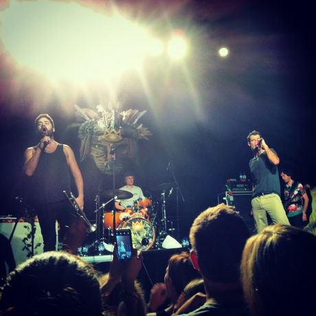 Cat Empire played at the MECC to delighted fans.