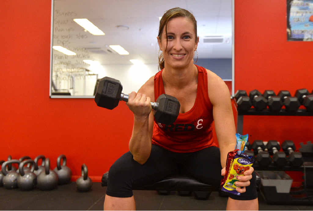 Red E Personal Training's Selina Wright said treating yourself after a workout could result in the scales creeping up.