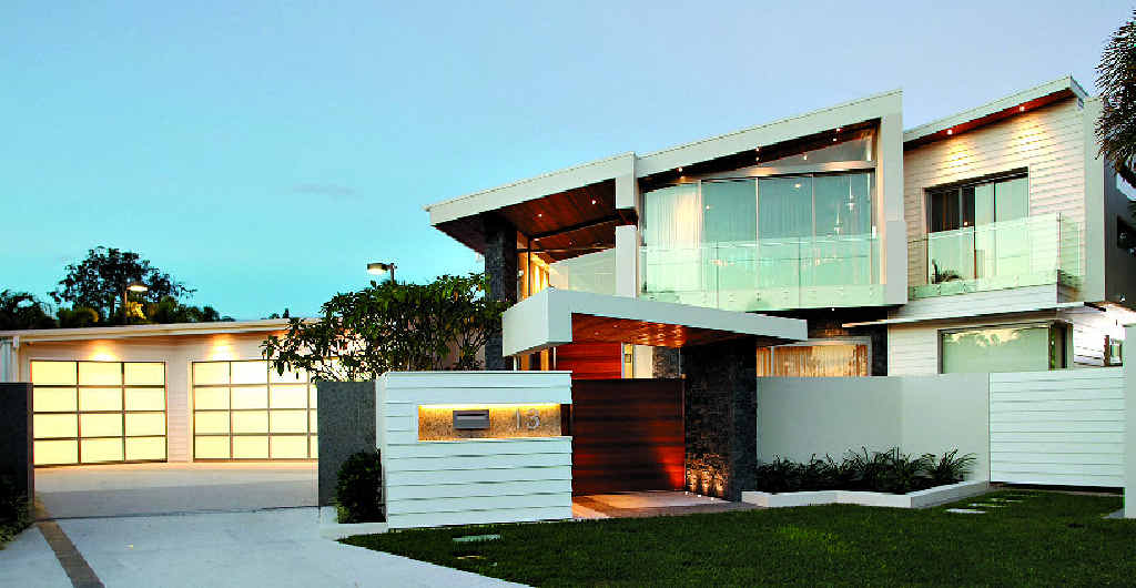 HOUSE OF THE YEAR: Robilliard Building and Design's winning entry at Noosa Heads.