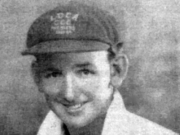 George Mihell, cricketer, 1934