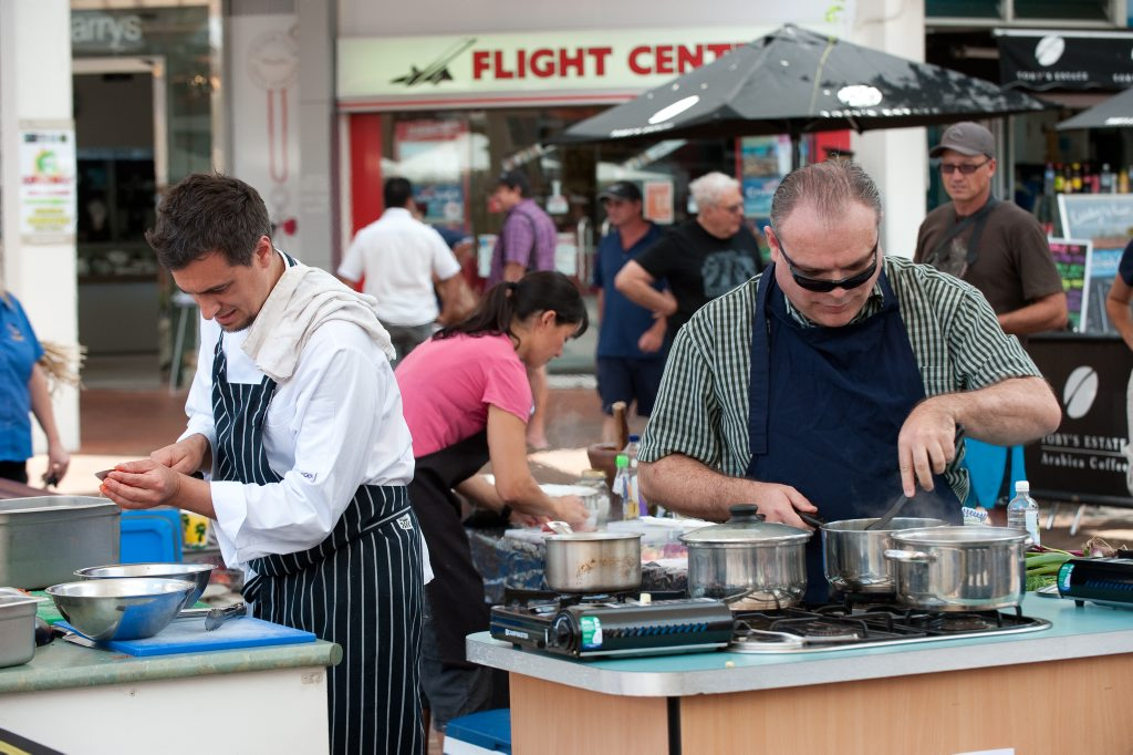 Another 'Show Us Ya Dish' food cook off in Coffs Harbour's City Centre is fast approaching. Photo: Trevor Veale / The Coffs Coast Advocate.