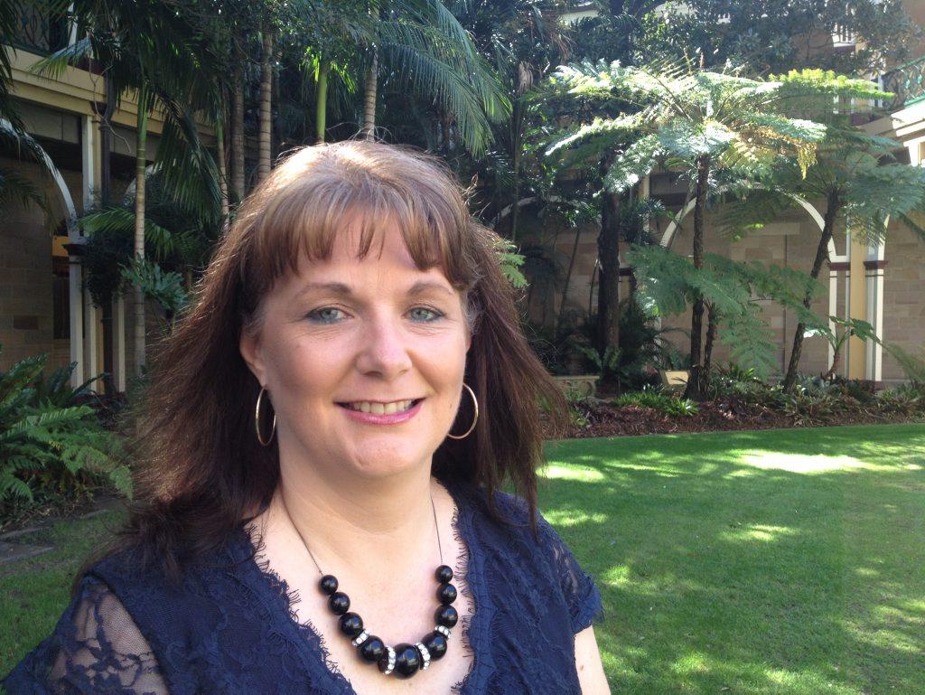 Queensland Child Protection Week award winner Katherine Plint.