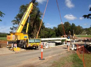 Gympie Muster bridge on its way