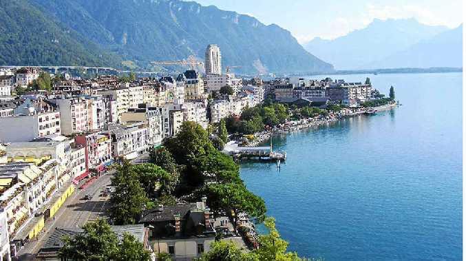 Montreux on Lake Geneva