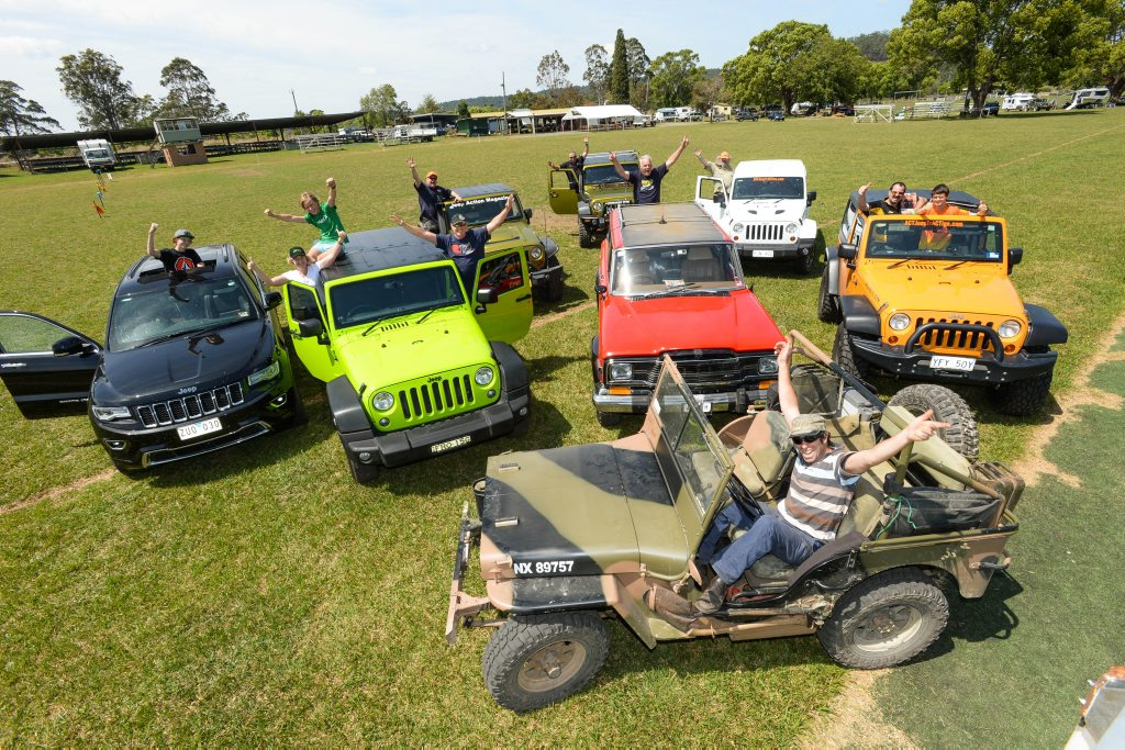 ALL REVVED UP: The annual Camp Coffs, held at Nana Glen, provided a smorgasbord of 4WD action. The camp, an annual event for Jeep Action Magazine, continues to grow in popularity.