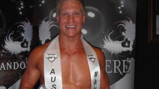 Manhunt Australia winner - Terry Delalande Photo: Supplied by Proconleisure