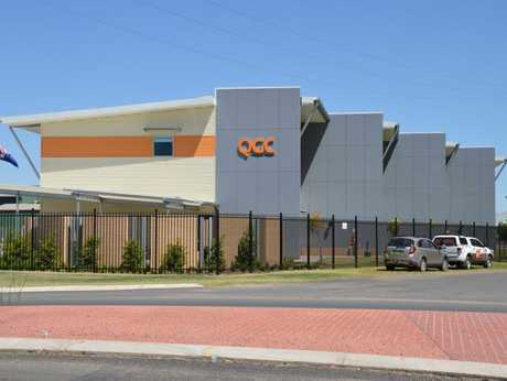 The new QGC office in Chinchilla.