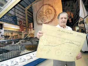 Unique 40-year-old map of Las Balsas journey goes on display