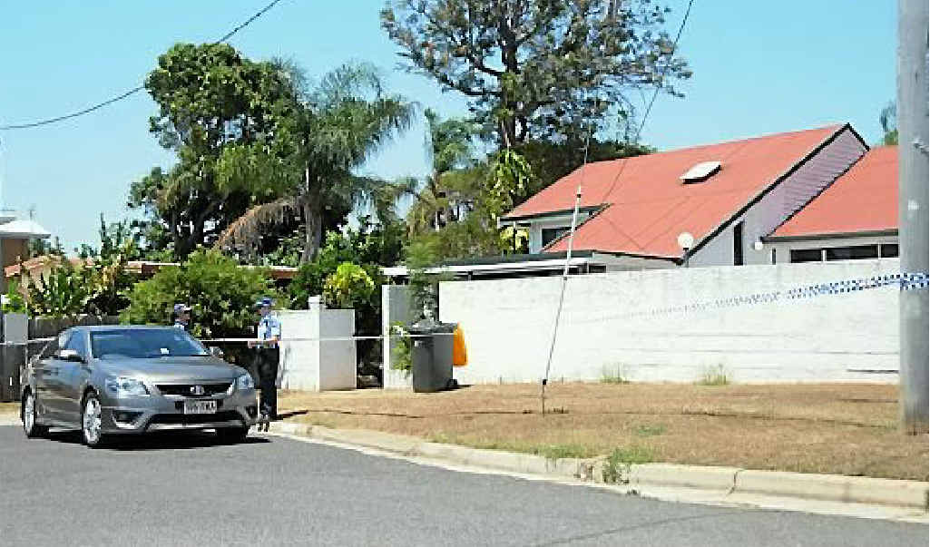 CRIME SCENE: Another raid was conducted at a Carter St residence.