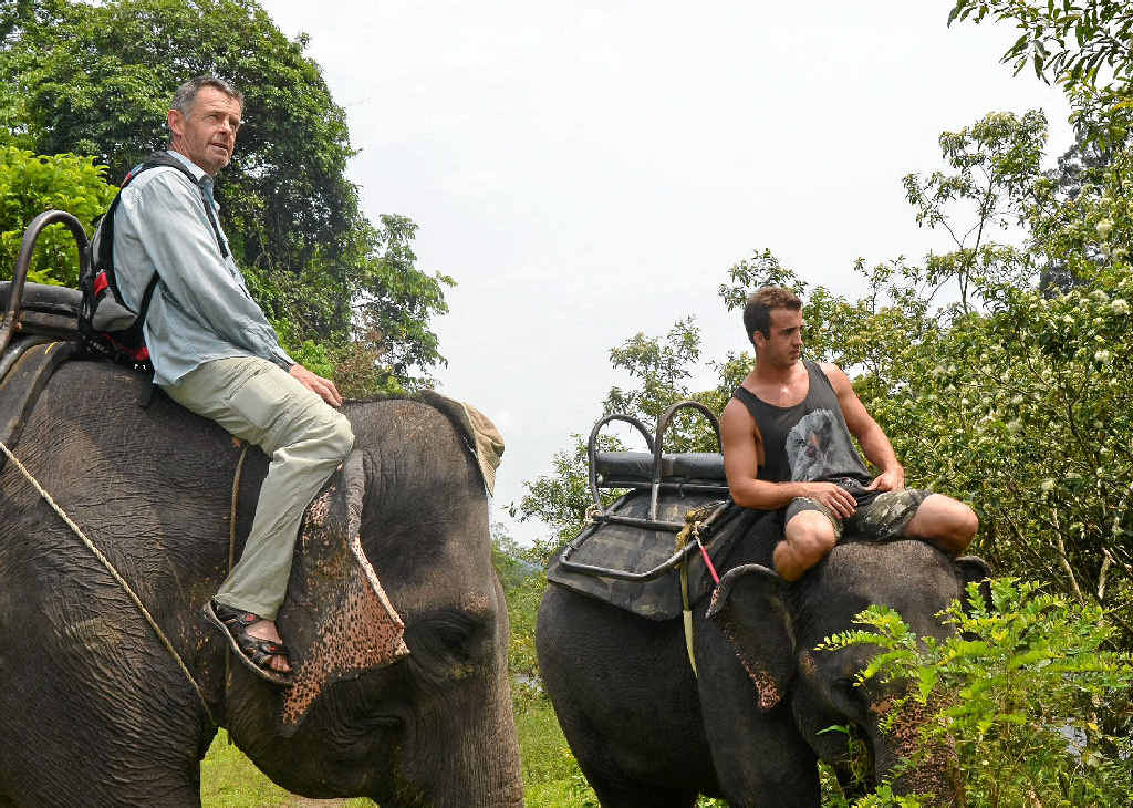 Rick Petersen has joined with Sue Parish's Experience Sumatra tours to offer father and son getaways in the heart of the Sumatran jungle.