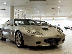 The stunning 2005 Ferrari 575 Superamerica