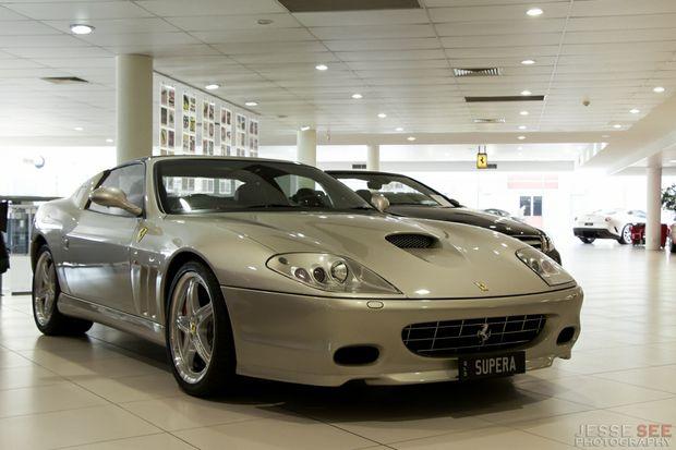 The Stunning 2005 Ferrari 575 Superamerica Springfield Daily Record