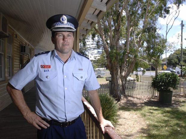 Former Tweed police officer Shane Diehm.