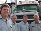 Warwick, Ross, Les and Peter Fraser of Frasers Livestock Transport.