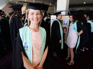 Kate's long road to her degree, travelling for 11 hours