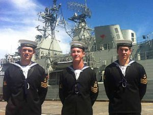 Opportunity of a lifetime for Gympie Navy cadets