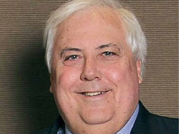 CLIVE Palmer has confirmed he is privately funding his Fairfax Festival Weekend at the end of the month.