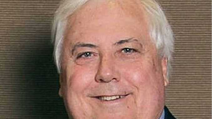UBIQUITOUS: Clive Palmer's profile is increasing.