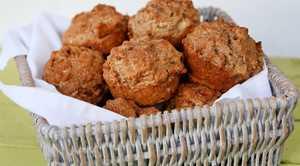 Apple cinamon muffins