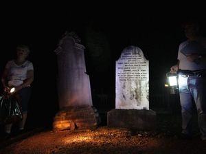 This month's cemetery tour is about deaths and murders