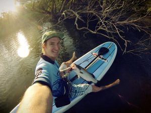 What's SUP Barra - Standup Paddleboard Fishing