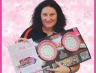 Auto Electrics Australia employee Mandy Peckham was diagnosed with breast cancer at 31. The business is donating $25 from every set of pink LED lights sold the McGrath Foundation. Photo Contributed