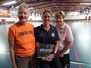 Zonta Hervey Bay backing the Love Bites program