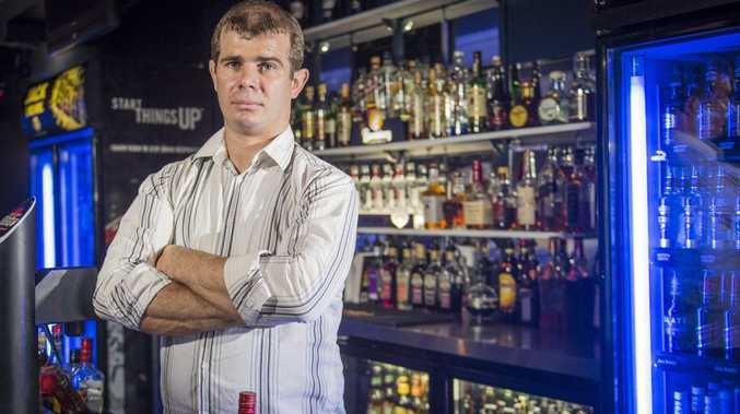 Aodhan McCann, manager at Bojangles Nightclub, has concerns over proposed changes to curfew times.