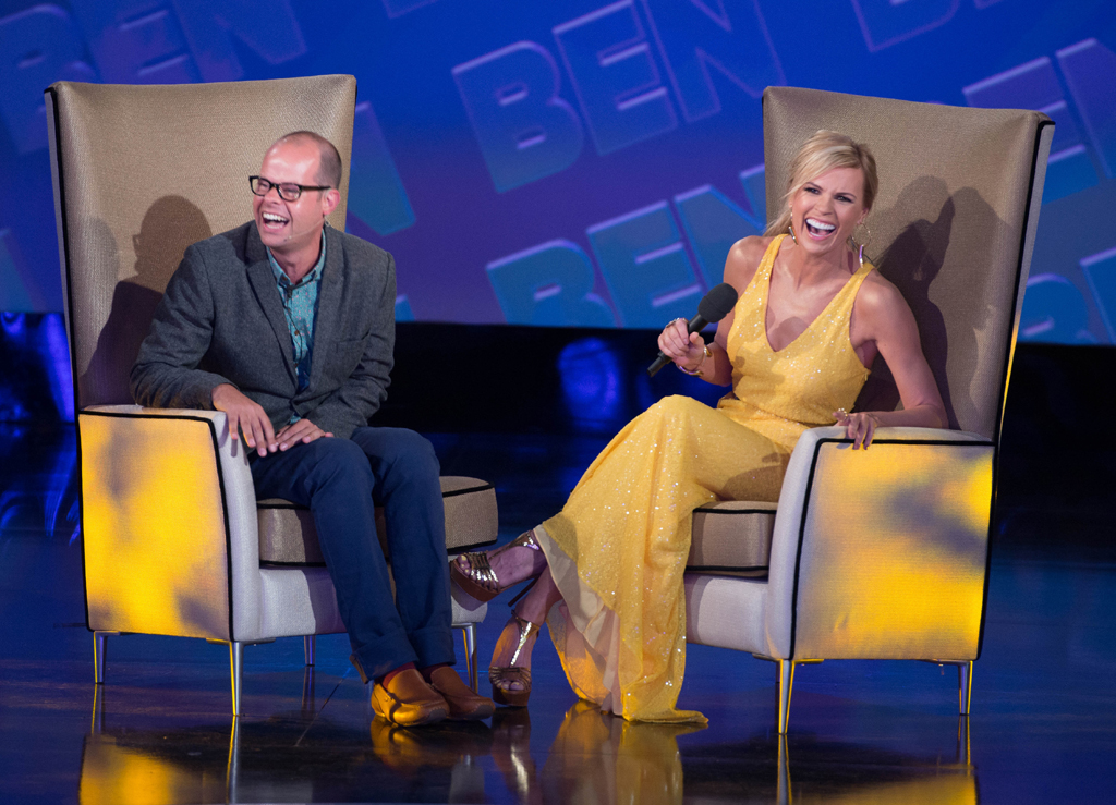 Ben chats to host Sonia Kruger