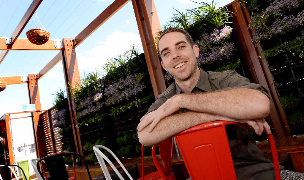 Owner Adrian Connors hopes more residents will come out and enjoy what the Mackay city heart has to offer.