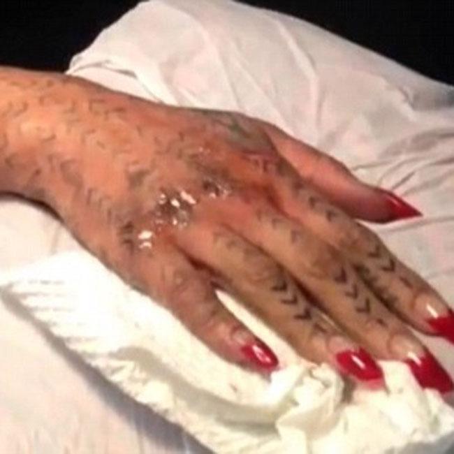 Rihanna's Moko Ink tattoo