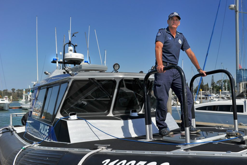 Gladstone Water Police officer-in-charge Jeff Barnett.