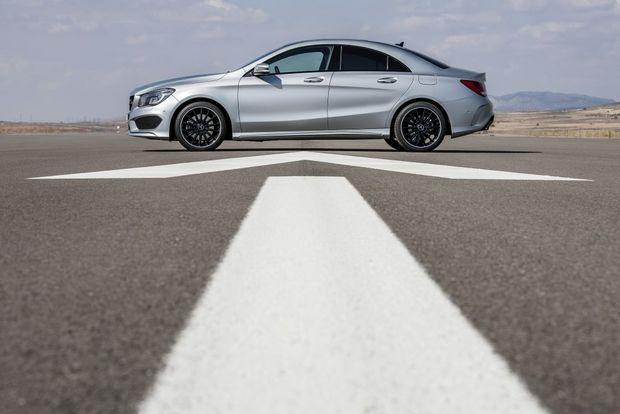 The Mercedes-Benz CLA.