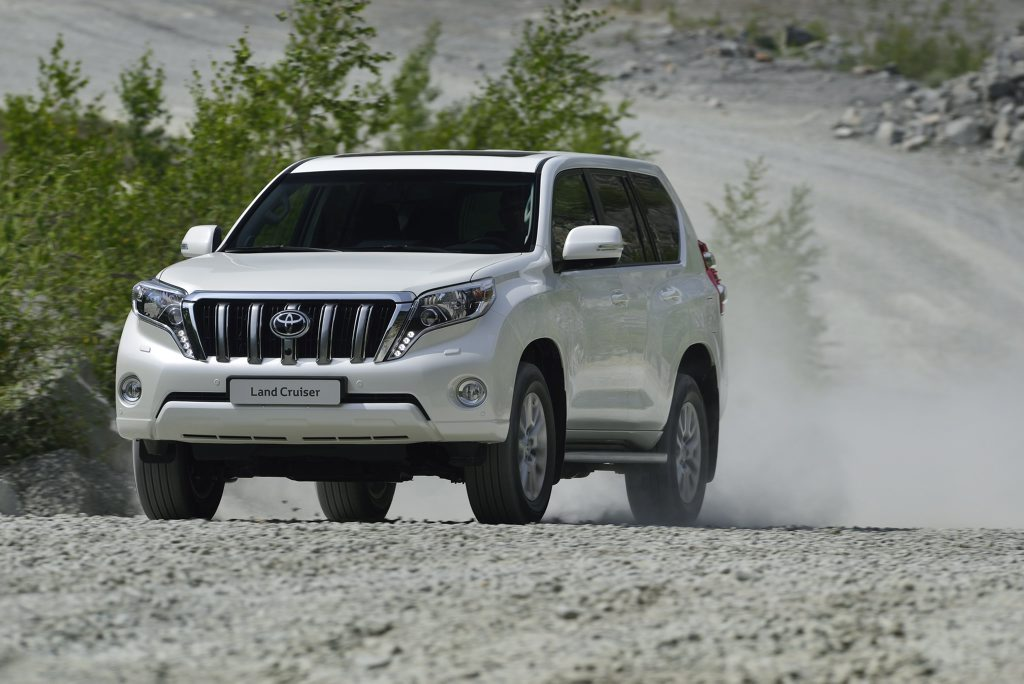 The Toyota LandCruiser Prado.
