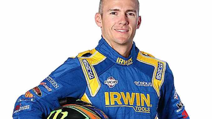 CONTENDER: Lee Holdsworth will take the wheel of an Irwin Racing Mercedes in Sunday's Bathurst 1000.