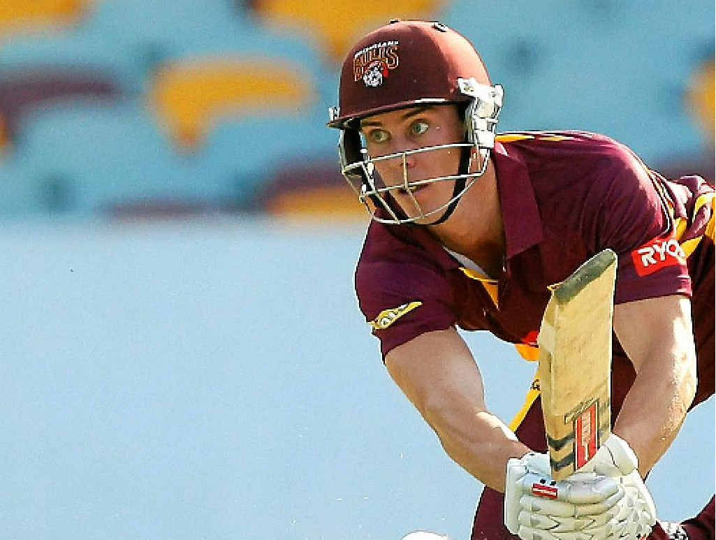 IN ACTION: Chris Lynn is part of the Bulls squad for the revamped Ryobi Cup.