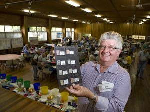 Collectors swap stories, stamps and good times at event