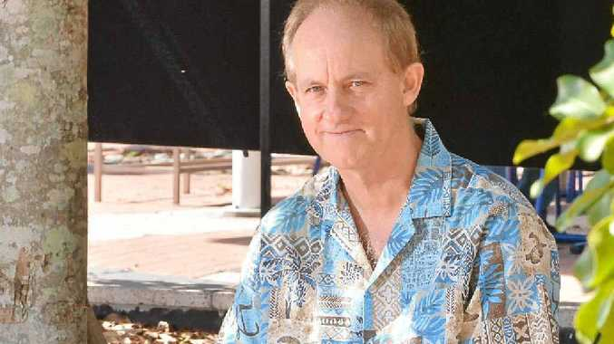 HOMESPUN DRAMA: Author Dr Paul Williams has written a new book about an Australian academic who travels to South Africa.
