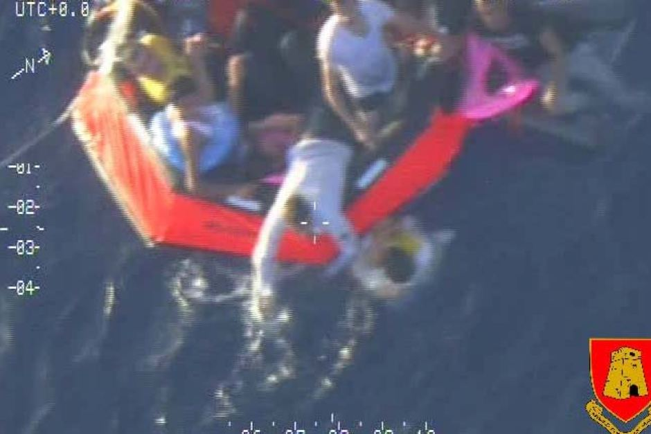 Dozens have died after a boat of people seeking asylum capsized off the coast of Lampedusa near Italy.