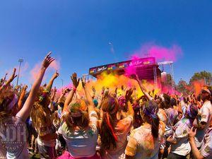 Color Run on the Sunshine Coast