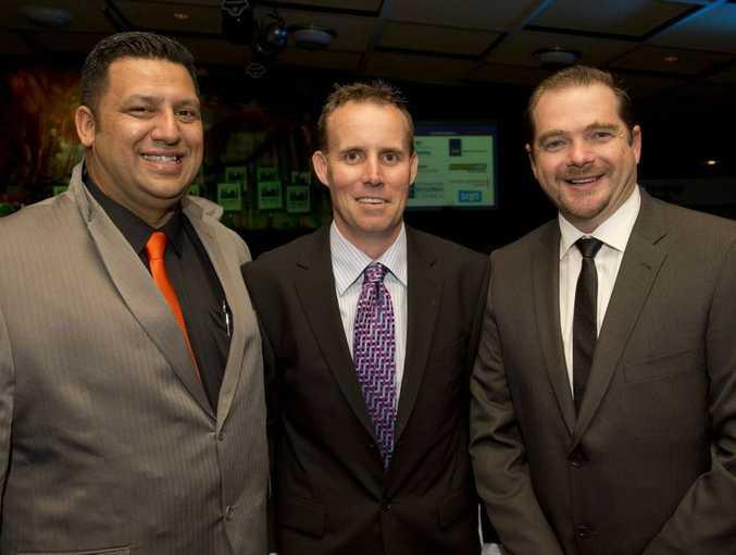 Dwayne Unahi, Matt Prendergast and Matt Ernst from Master Hire.