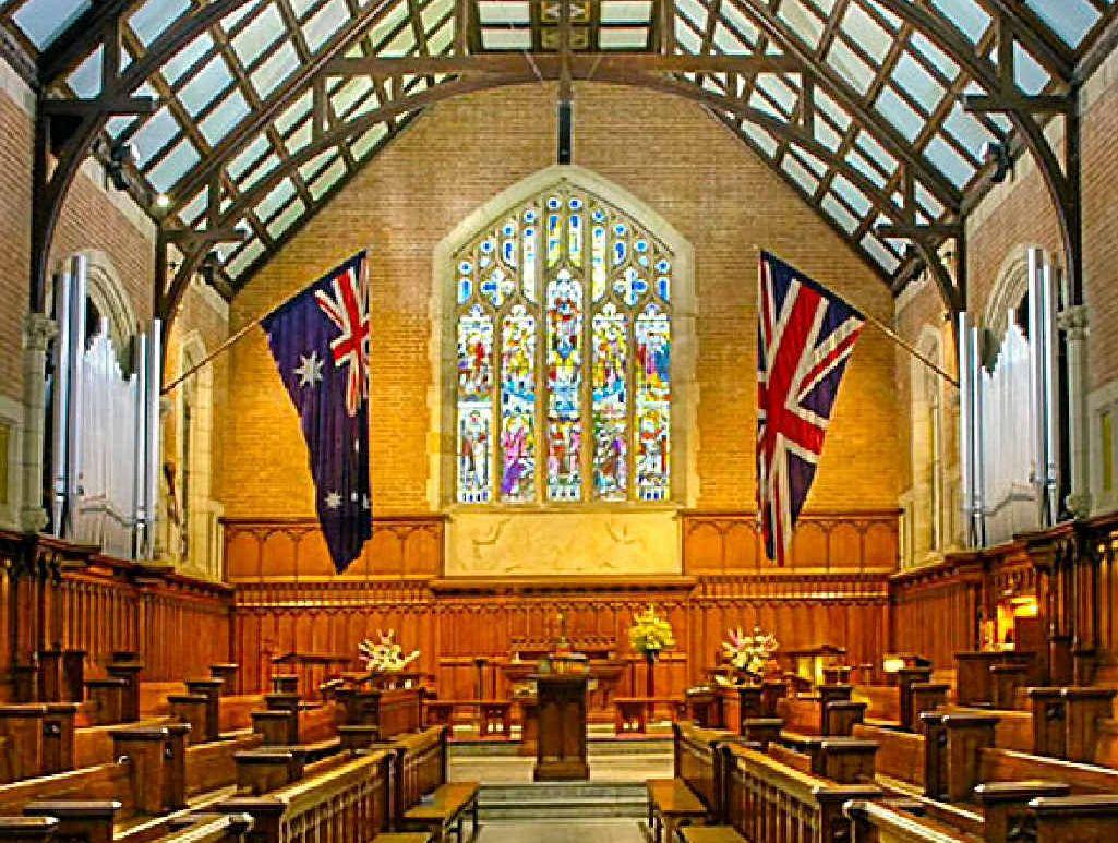 Chapel at Shore Grammar School, Sydney