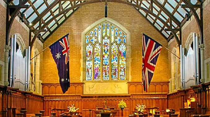 Chapel at Shore Grammar School, Sydney