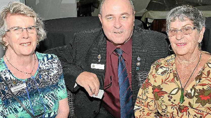 Maureen Phillips, Tony Ferris and Raylene Dries.