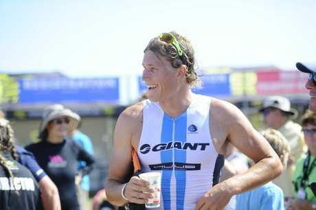 Joey Lampe won the 2013 Yamba Triathlon.