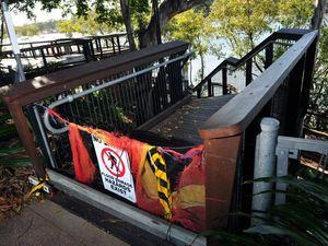 Bundy boardwalk to remain closed