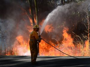 Four safe places for people in outlying areas during fires