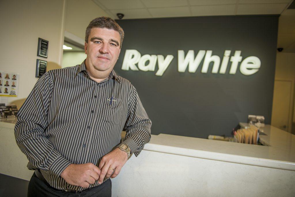 John Fieldus is celebrating his 25th anniversary with Ray White.