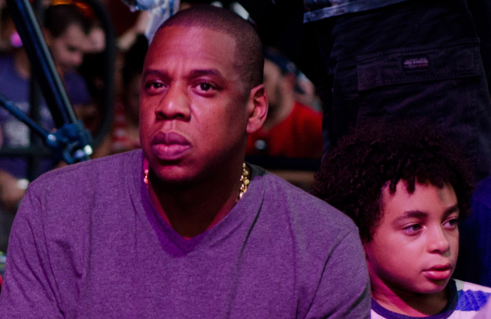 Jay Z and Chris Martin took the Tube to his sold out gig in the O2 arena in London on Saturday.
